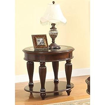 Tremendous Amazon Com Furniture Of America Artemis End Table In Dark Machost Co Dining Chair Design Ideas Machostcouk