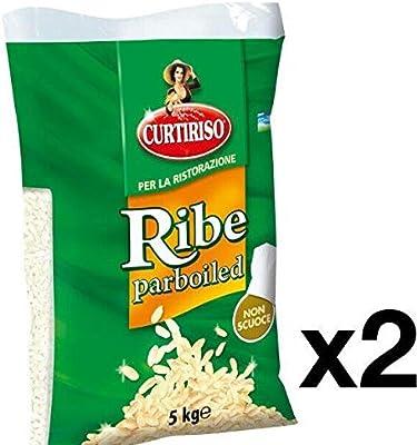 CURTIRISO ARROZ RIBE VAPORIZADO 2PCS X 5 KG: Amazon.es ...