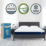 Sleep Innovations Taylor 12-inch Gel Swirl Memory Foam Mattress - G-MAT-95570-KG-WHT