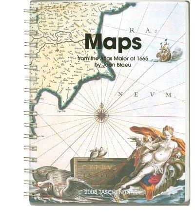 Maps (Taschen's Diaries)