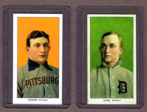 (Honus Wagner) (Ty Cobb) 1909 T206 Tabacco Baseball for sale  Delivered anywhere in USA