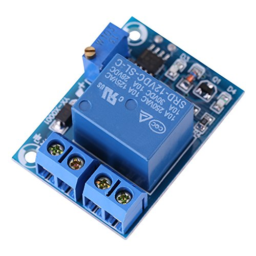 DC12V Battery Charging Controller Protection Module Low Voltage Cut off Switch (Voltage Over Capacitor)