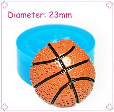Moldes de silicona para Fimo – Balón de baloncesto: Amazon.es ...