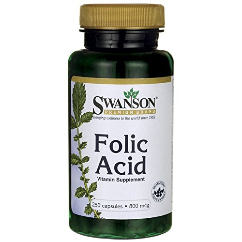 Swanson Folic Acid 800 Caps
