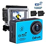 WIFI Underwater Camera HD 1080P Action Camera 12M Waterproof with Rechargeable Battery and Full accessories for Kids,Diving,Surfing,Swimming,Snorkeling,Motorcycle,Bike,Helmets And Water Sports