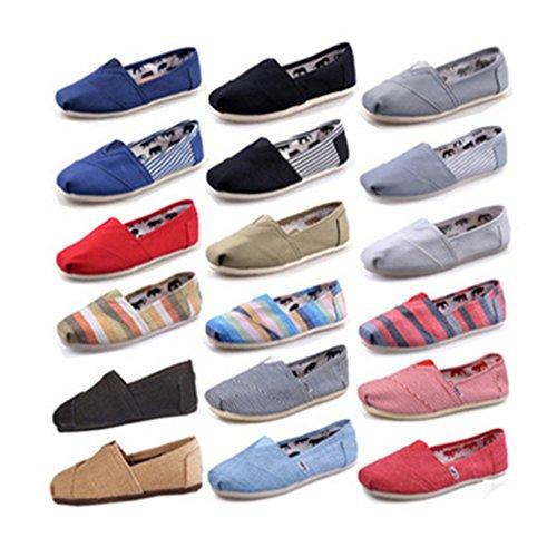 Kunfang Lovers Loafers Basse Della Beige Di Totem Splice Filo Da Tela Colore Casuali Scarpe Cucito Caramella Puro Unisex r4fnqr