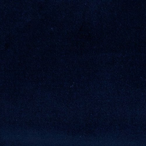 Blue Velvet Fabric (Robert Kaufman Kaufman Lush Velveteen Navy Fabric By The Yard)