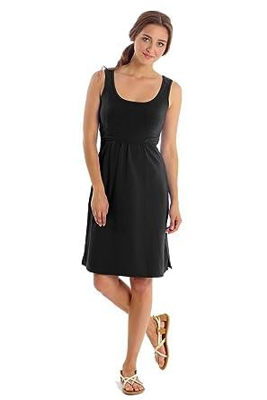 abf44d2f47 Mothers en Vogue Avery Organic Cotton Scoop Neck Nursing Dress at Amazon  Women's Clothing store: