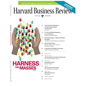 Harvard Business Review, October 2008 Periodical