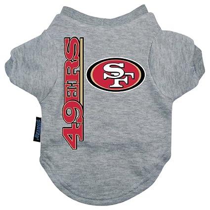1e5683db3 Amazon.com   San Francisco 49ers Dog Tee Shirt - Extra Large ...