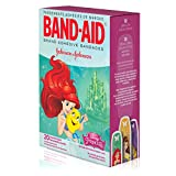 Band-Aid Decorative Adhesive Bandages, Disneys Princesses, Assorted, 20 Count (Pack of 4)