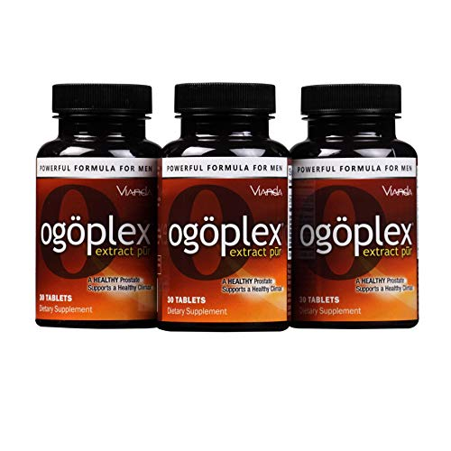 Ogoplex®   Male Prostate & Climax Enhancement Supplement with Graminex® Swedish Flower Pollen, Saw Palmetto, Phytosterols & Lycopene - 90 Tablets