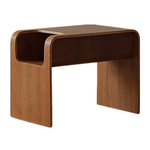 DN-table Mesa Auxiliar Moderna de TV Bandeja N-Forma Snack ...