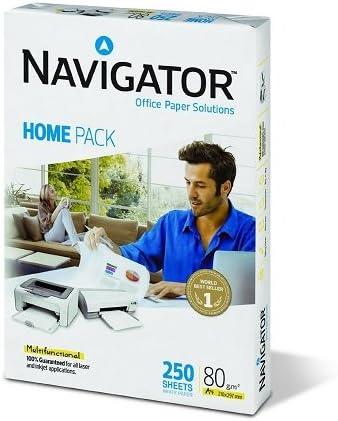 Caja 2500 Folios Navigator Home Pack 80 g A4 10x paquete 250 hojas ...