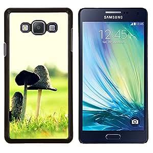 Queen Pattern - FOR Samsung Galaxy A7 - Plant Nature Forrest Flower 12 - Cubierta del caso de impacto con el patr???¡¯???€????€?????n Art D