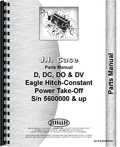 Read Online Case DC3 Tractor Parts Manual (SN# 5600000 and Up) PDF