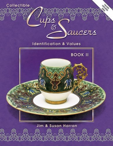 By Jim Harran Collectible Cups & Saucers: Book ll [Paperback]