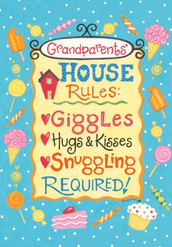 Grandparents Rules Kisses Required Decorative