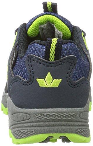 Lico Apachi, Zapatos De High Rise Senderismo Para Unisex Adulto, Azul (Marine/Lemon), 41 EU
