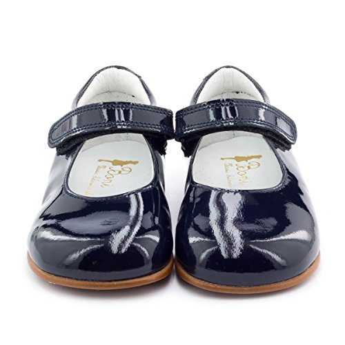 Boni Classic Shoes, Mädchen Schnürhalbschuhe Blau - Bleu Marine