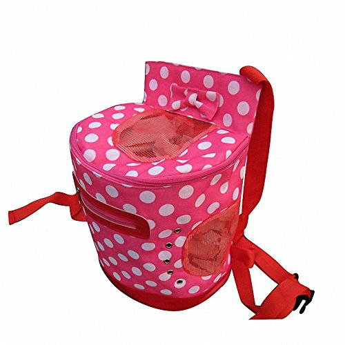 dot Pet dog cat Travel backpack bag for cat dog front chest Carrier bag outdoor small dog