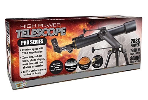 PRO Series Refractor Telescope by Discover with Dr. Cool Discover with Dr. Cool