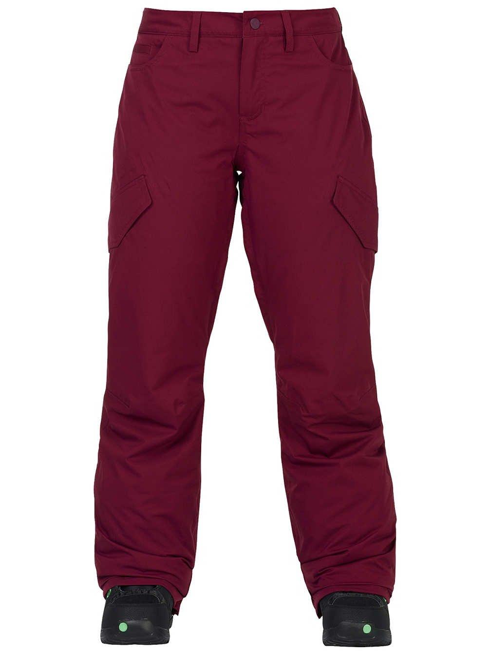 2018 Women's Burton Fly Snowboard Ski Pants Sangria Size Medium