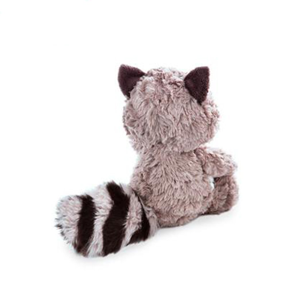 25cm Cartoon Big Tail Raccoon Plush Toy Cute Soft Stuffed Animals Doll Pillow for Girls Children Kids Baby Birthday Gifts by Eden Fghk (Image #3)