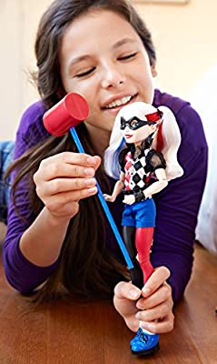 "DC Super Hero Girls Harley Quinn 12"" Action Doll  