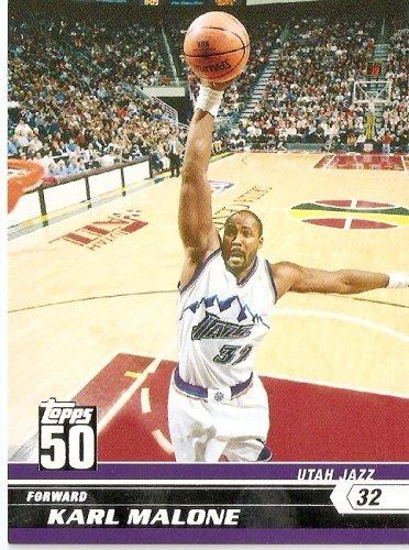 2007-08 (2008) Topps 50th Anniversary Limited Edition # 35 Karl Malone / Utah Jazz - NBA Basketball Trading - Cards Basketball 2008 Trading 2007
