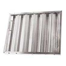CHG (Component Hardware Group) F35-2016 Baffle-Type Grease Filter W/Handles Galvanized 20 X 16 X 2 Smooth For Chg 261768 by CHG (Component Hardware Group)