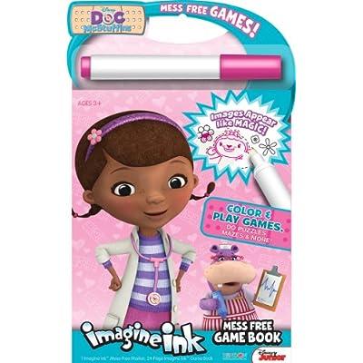 Bendon Publishing Doc McStuffins Imagine Ink Mess Free Game Book: Toys & Games
