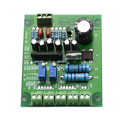 anyilon Dual Stereo Vu Meter Driver Board Amplifier Db Audio Level Ac 12V Input Backlit