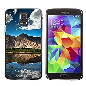Be Good Phone Accessory // Dura Cáscara cubierta Protectora Caso Carcasa Funda de Protección para Samsung Galaxy S5 SM-G900 // Nature Beautiful Forrest Green 101