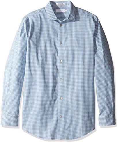 calvin klein teal dress shirt - 2