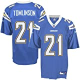 Reebok San Diego Chargers Ladainian Tomlinson Youth Replica Alternate Jersey Medium