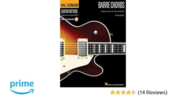 Barre Chords A Beginners Guide With 18 Pop And Rock Hits Hal