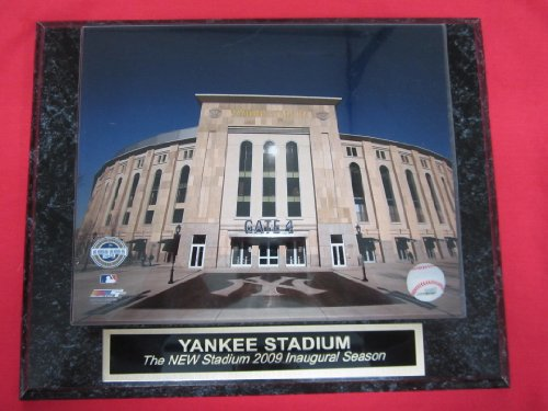 - Yankee Stadium INAUGURAL SEASON Collector Plaque w/8x10 Photo!