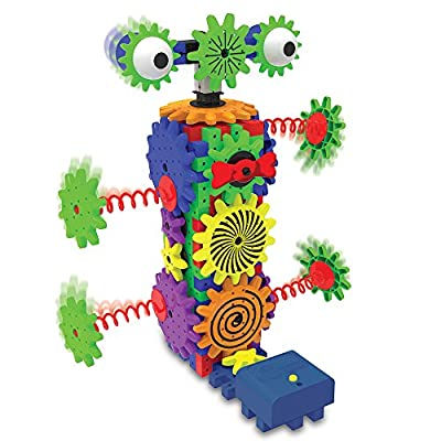 The Learning Journey Techno Gears STEM Construction Set - Wacky Robot (60+ pieces) - Learning Toys & Gifts for Boys & Girls Ages 6 Years and Up: Toys & Games
