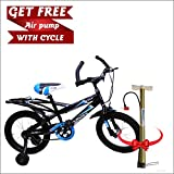 Speed Bird Cycle Industries K30 Child Cycle - Kids Sports Bicycle For Boys & Girls - Age Group 5-7 (Blue Black)