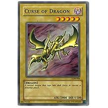 Yu-Gi-Oh! - Curse of Dragon (LOB-066) - Legend of Blue Eyes White Dragon - Unlimited Edition - Super Rare by Yu-Gi-Oh!