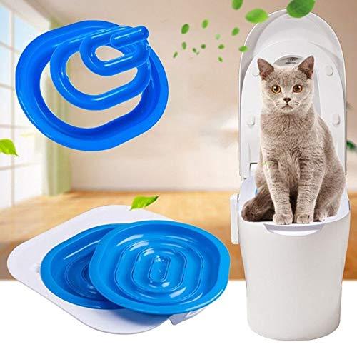 FidgetFidget Cat Toilet Training Kit Pet Trainer Puppy Cat Litter Box Pet Supplies Pet Train