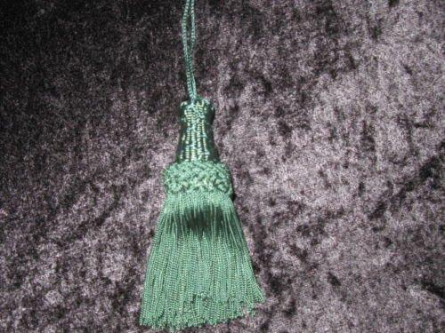 New Season Cushion & tende 10cm chiave nappe £ 2.99cacciatori verde (63) Key Tassels