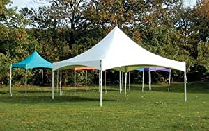 "Eureka Vista 15' X 15' / 2"" Dia. Frame Peak-Top Party Tent"