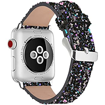 Amazon.com: Wolait Leather Band Compatible with Apple