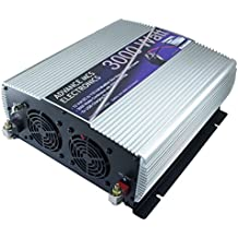 Advance MCS Electronics 12 volt to 110 volt DC to AC Power Inverter with USB charger (3000 Watt continuous, 6000 w peak)