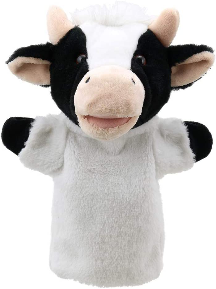 The Puppet Company - Puppet Buddies - Cow Hand Puppet: The Puppet ...