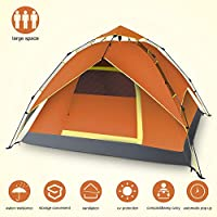 Yachee Automatic Hydraulic Tent, Pop Up 2-4 Person...