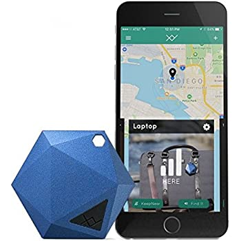 XY GPS Tracker for Vehicles, Kids, Keys, Dogs, Luggage | Personal Tracking Device with App & Unlimited Range | Find Item Location in Real Time Worldwide | No Activation Cost or Subscription Fee