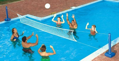 Swimline 9186 In Ground Swimming Pool Volleyball Game